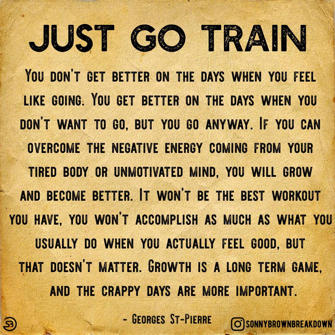 Just Go Train! [image]