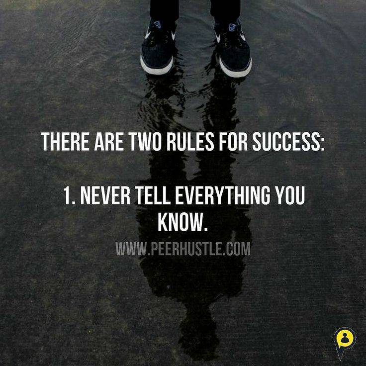 There are two rules for success (736×736)