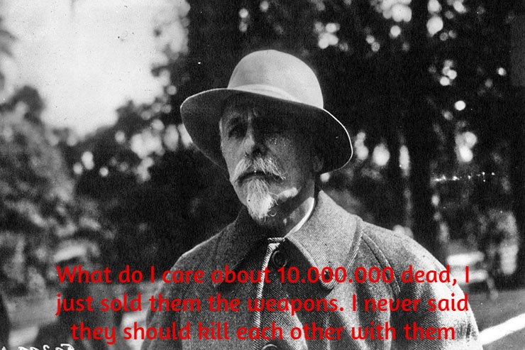 """What do I care about 10.000.000 dead…""- Basil Zaharof ""The Merchant Of Death"" [740 x 493]"