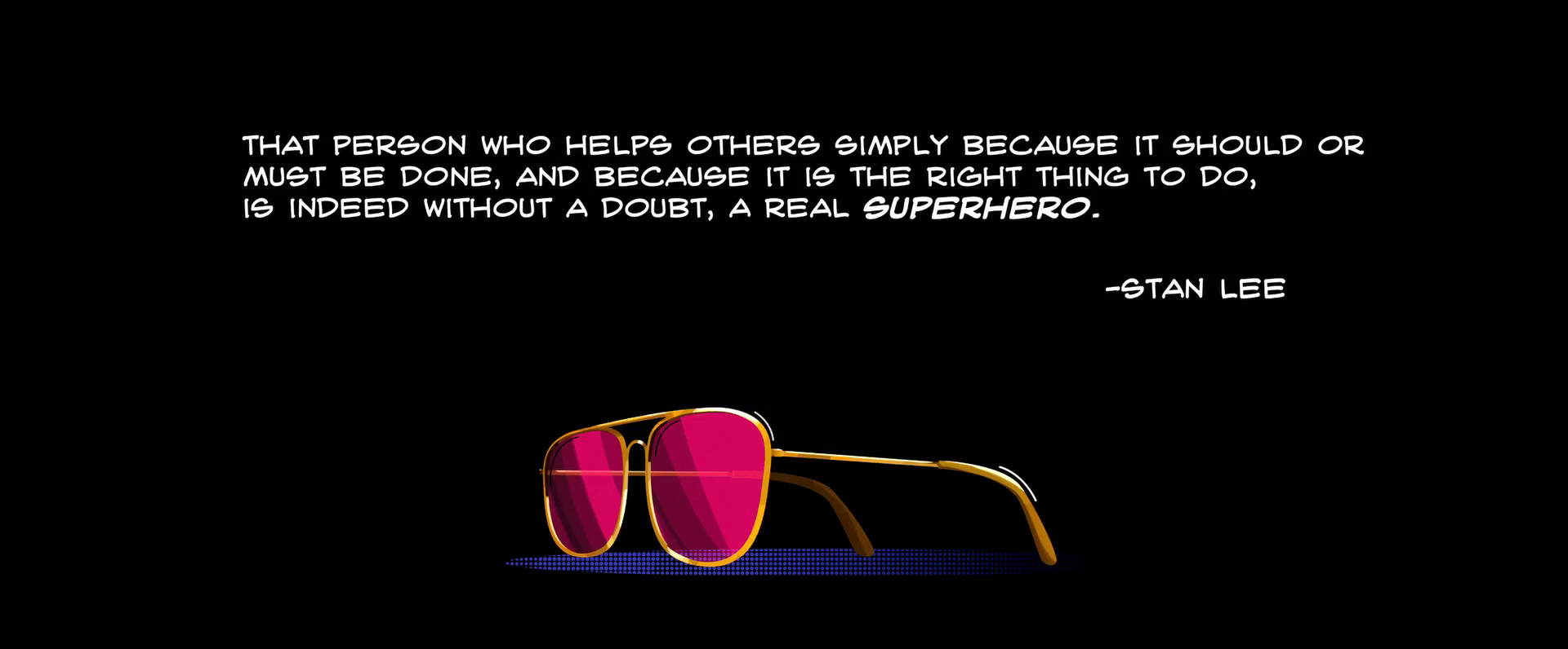 [Image] Stan the Man on Superheroes