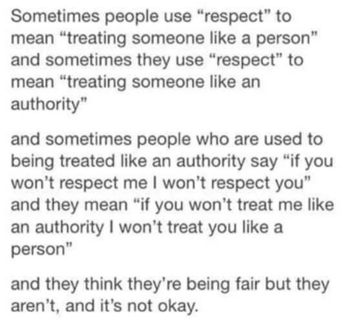 [Image] Treating people with respect goes a long way.