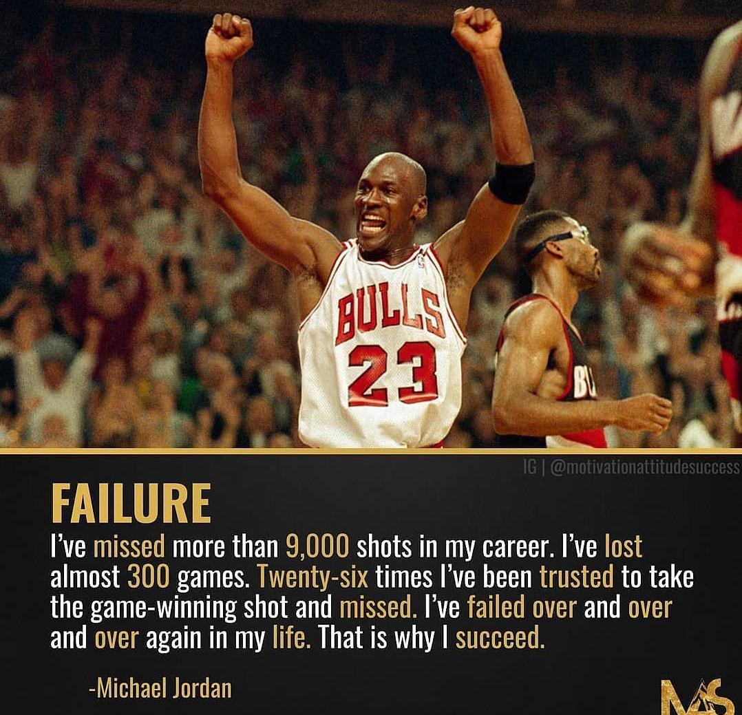 [image] Fail hard, Win harder.