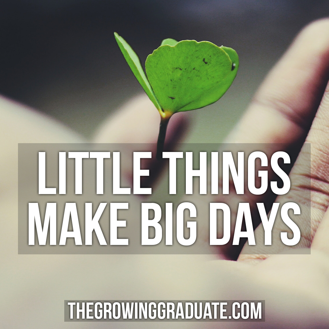 [Image] Little thing make big days