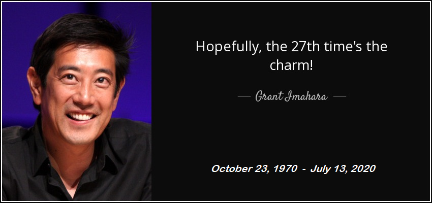 [Image] Grant Imahara, from MythBusters, dead at 49. Thanks for motivating and inspiring a new generation in sTEM.