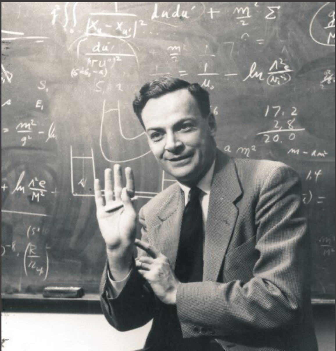 GOLD: We must be careful not to believe things simply because we want them to be true. No one can fool you as easily as you can fool yourself! – Richard Feynman [144×144]