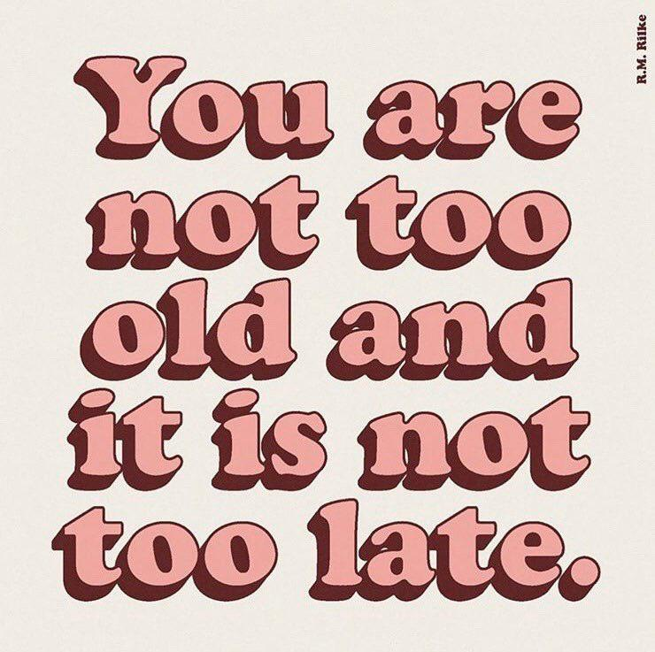 [Image] It Is Not Too Late