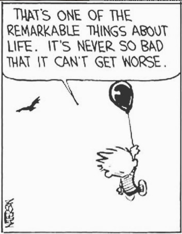 Credits – Mr. Bill Watterson, Calvin and Hobbes [500×375]
