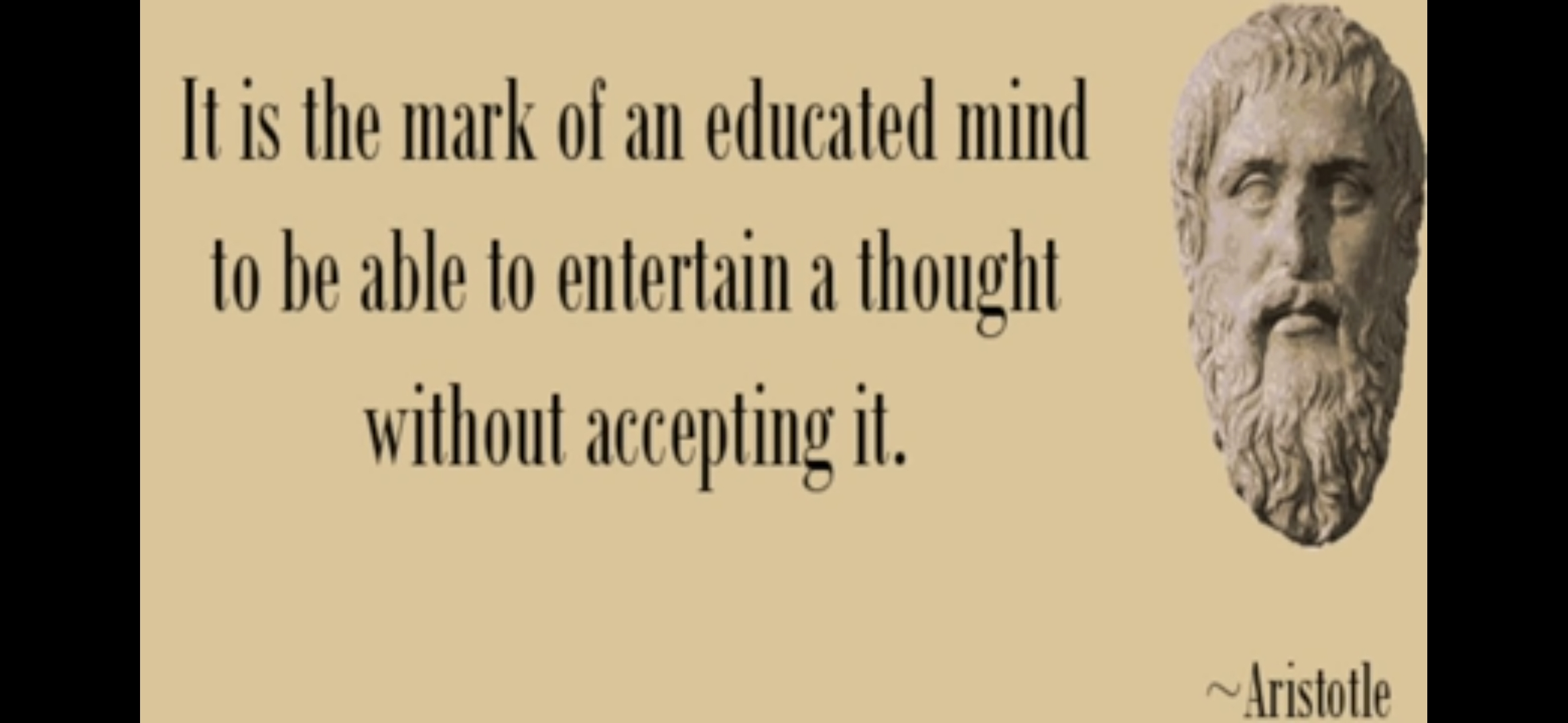 Mark of an educated mind- Aristotle (2340×1080)