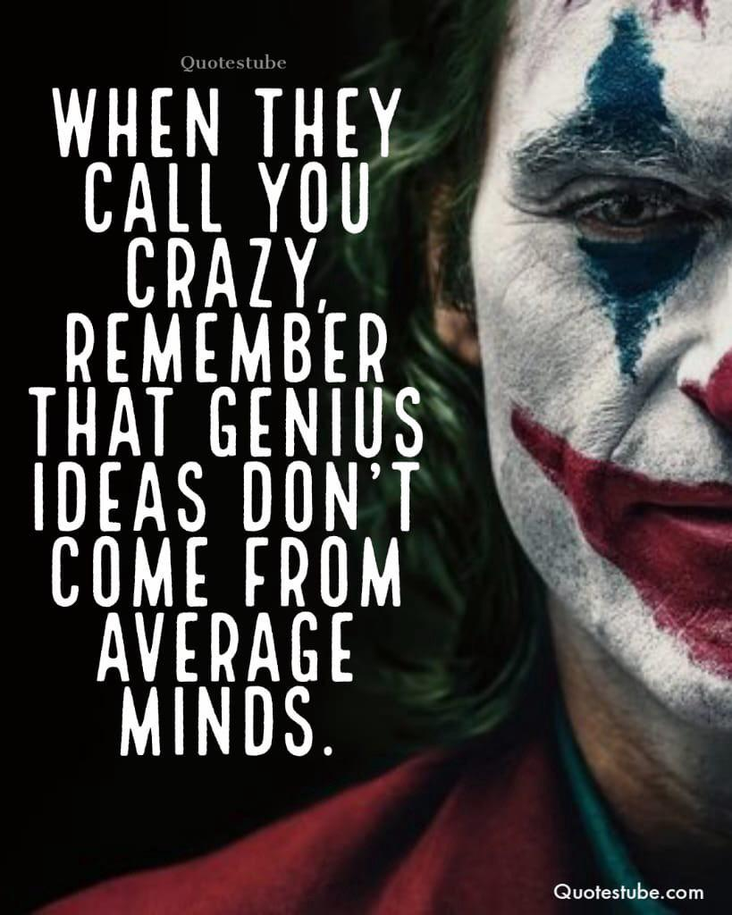 """When they call u crazy remember this"" -joker [976X768]"