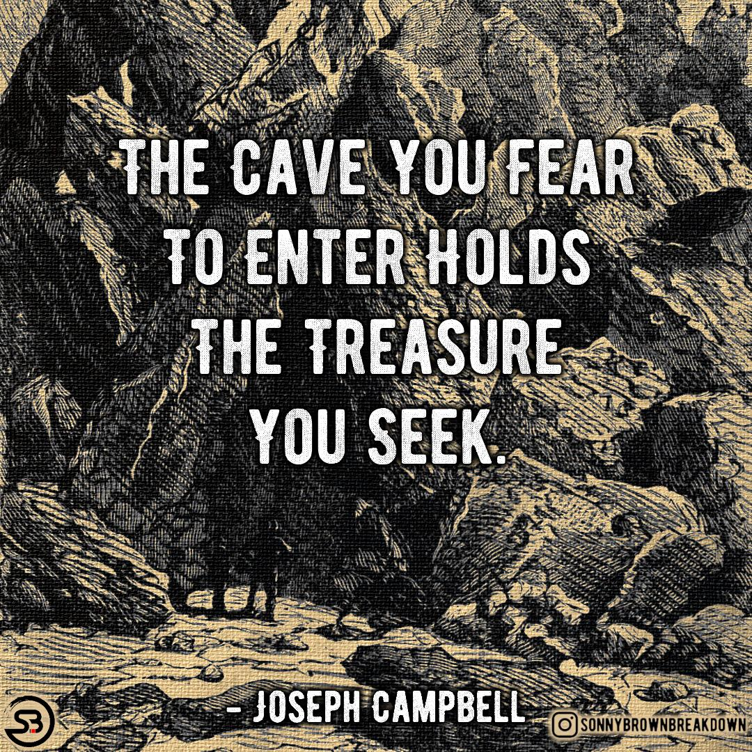 The Cave you fear to enter … [image]