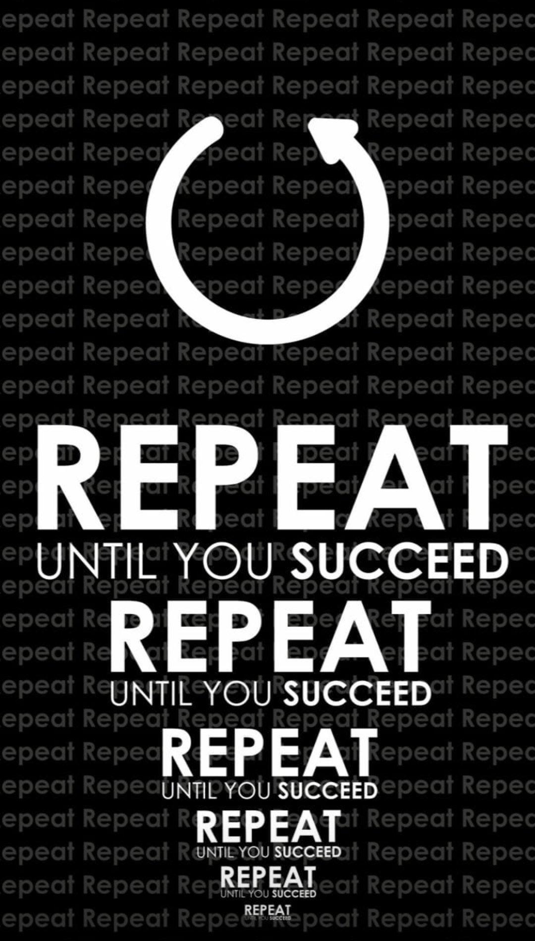 [Image] Repeat then repeat again.
