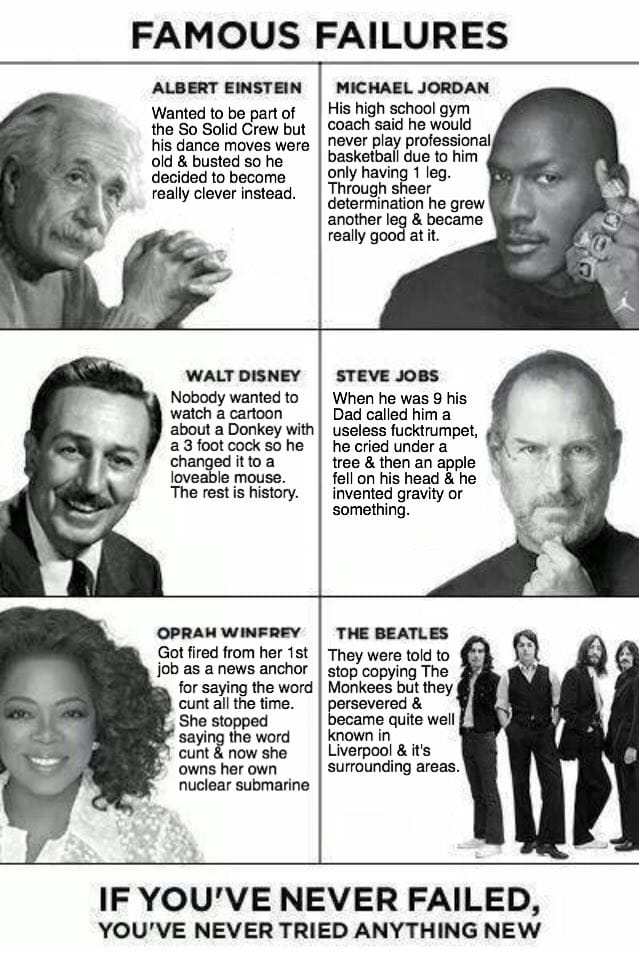 [image] Famous Failures