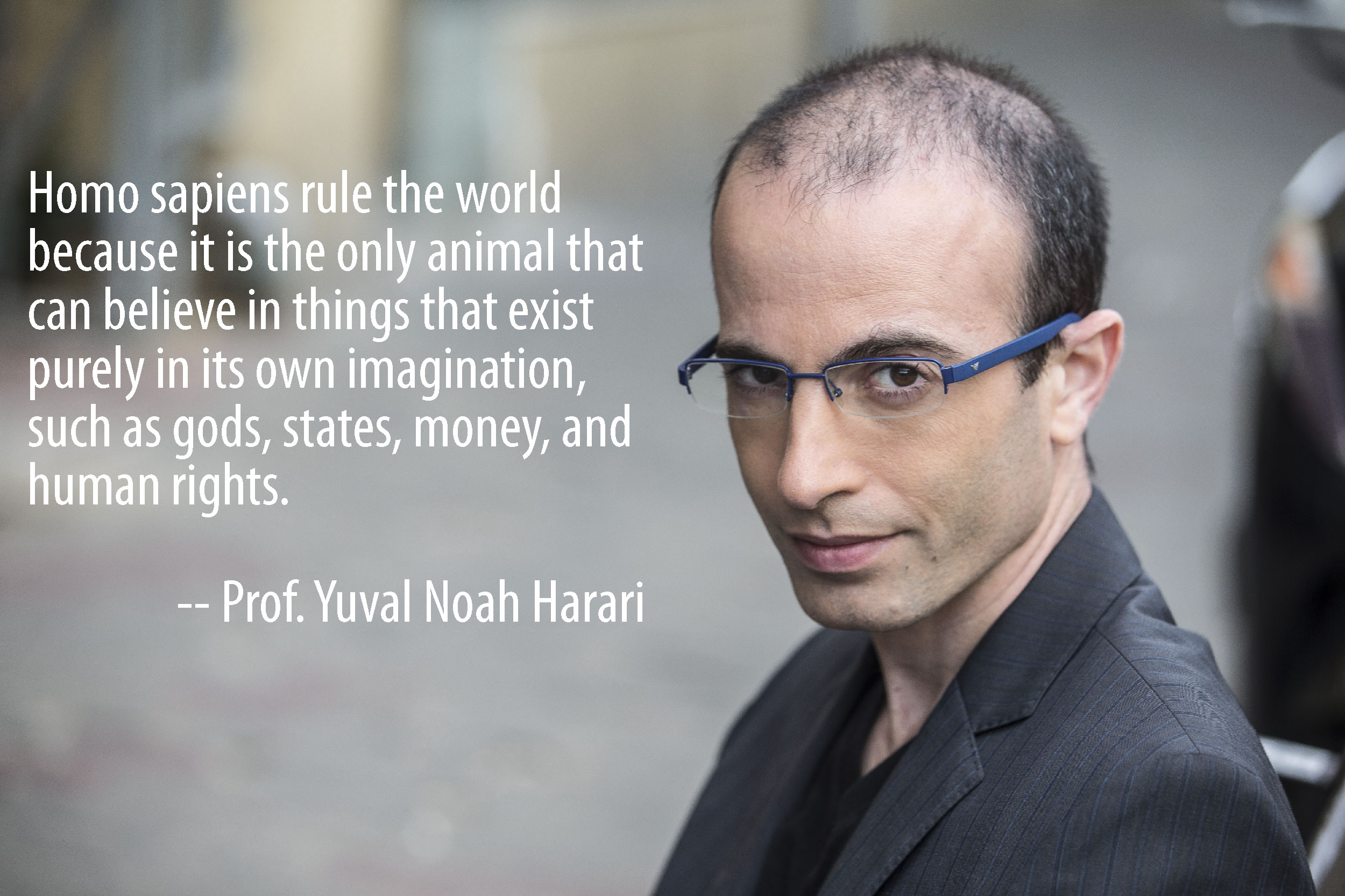 """Homo sapiens rule the world because…"" — Yuval Noah Harani [2500 x 1666]"