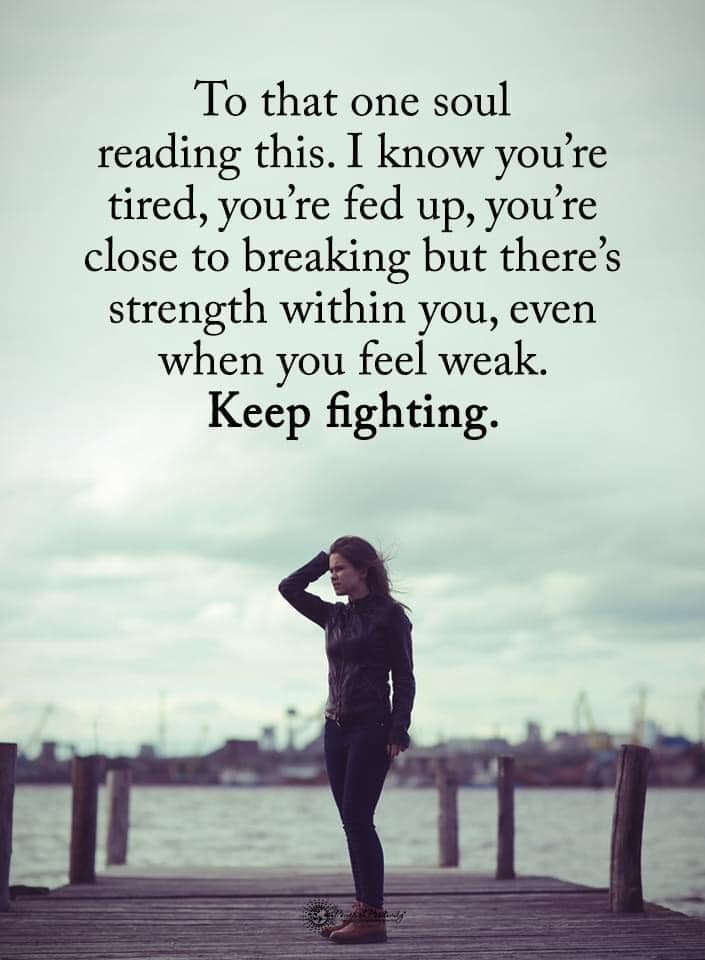 Keep fighting [image]