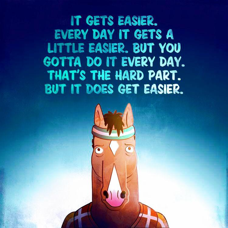"[Image] ""Everything is the worst"" – Bojack"