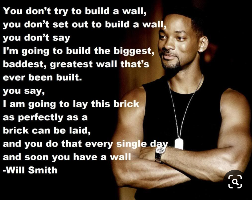 [image] Brick by brick