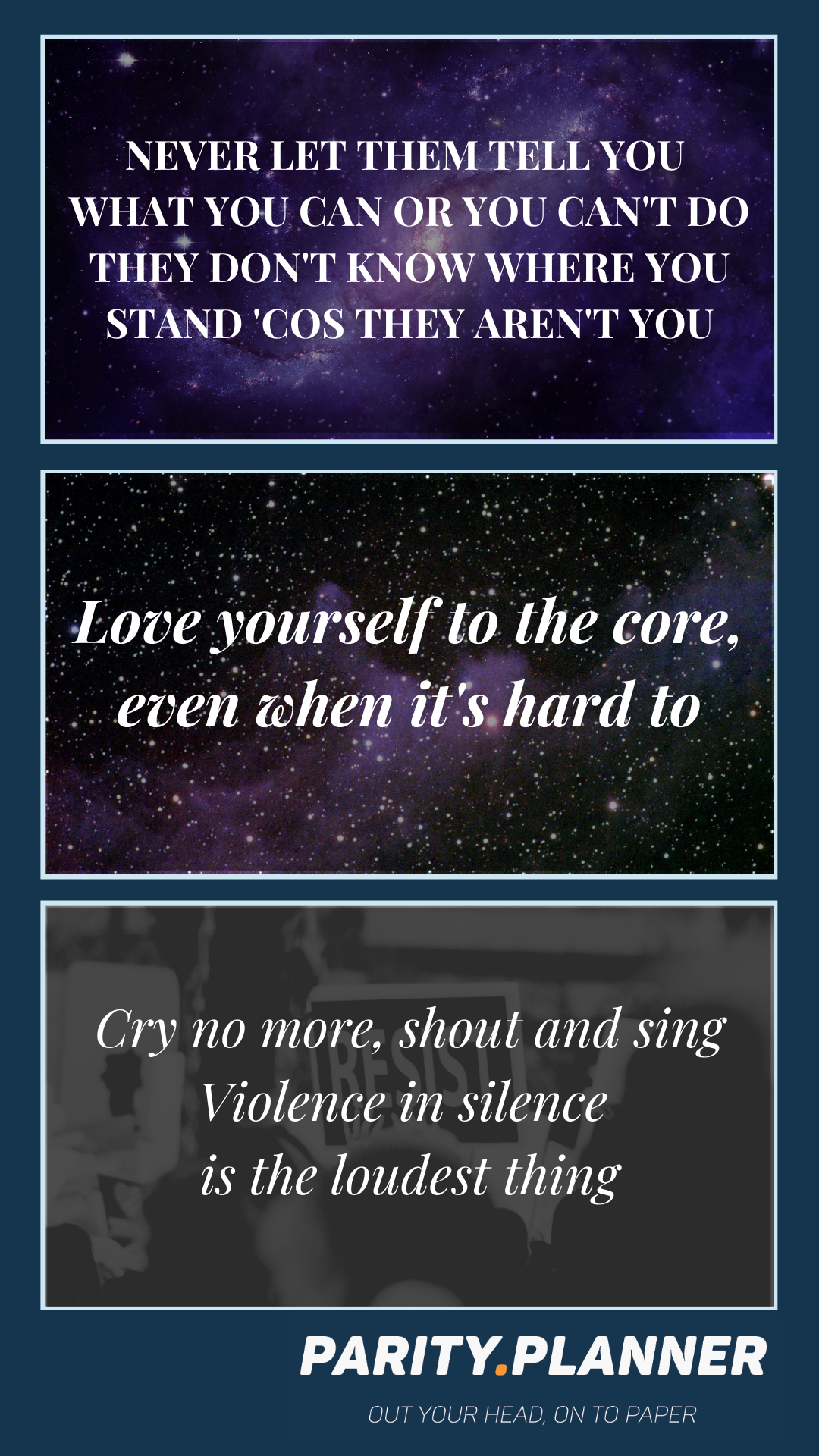 """Love yourself to the core, even when it's hard to"" – Lowkey [1080×1920]"