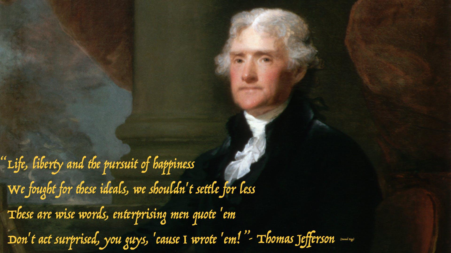 """Life, liberty, and the pursuit of happiness…"" – Thomas Jefferson [1920×1080]"