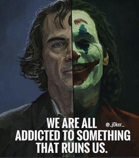 """We are all addicted to someting"" ~Joker [976X768]"