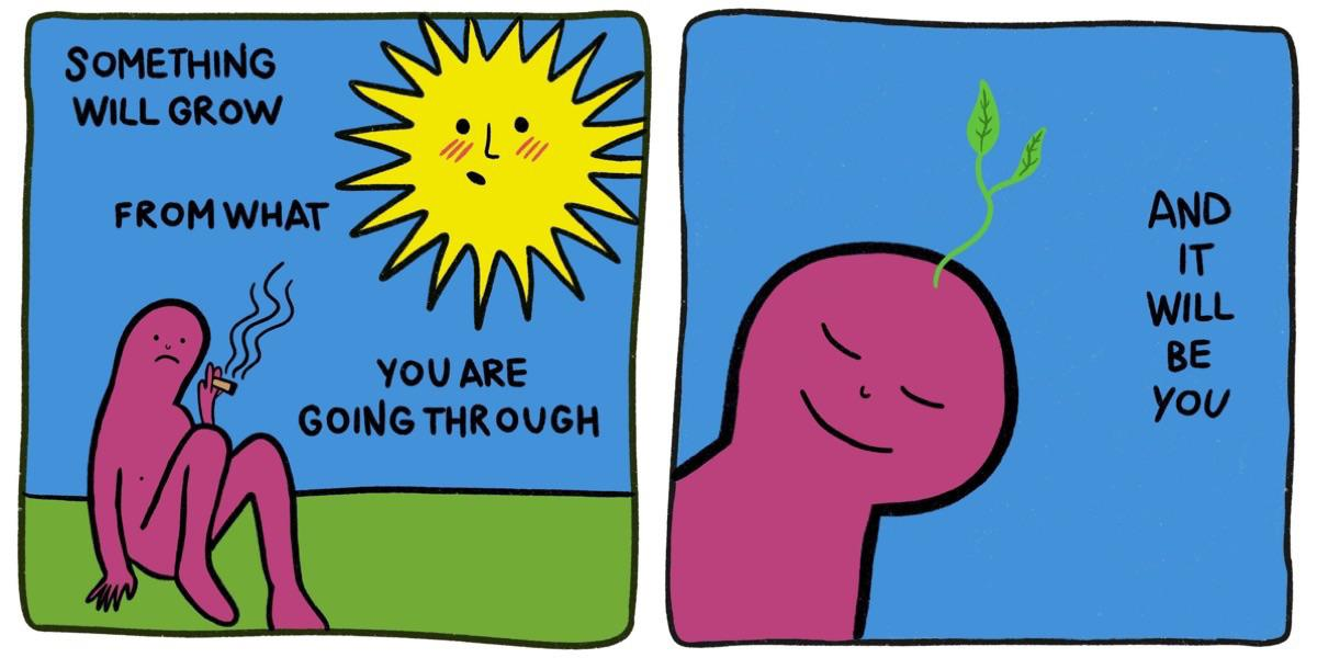 [Image] friendly reminder that you're great and able to do all things 🌱✨