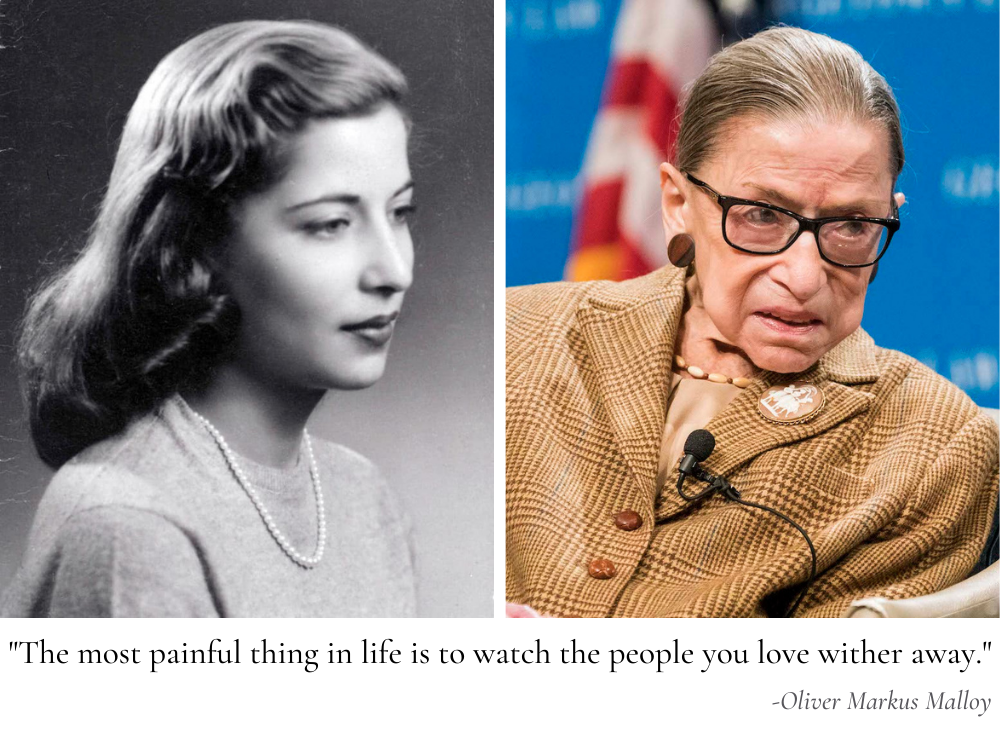"""The most painful thing in life is to watch the people you love wither away."" -Oliver Markus Malloy [1000×731]"