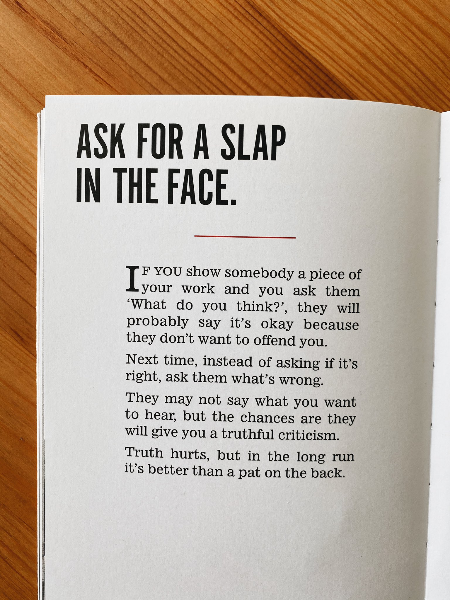 [image] ask for a slap in the face