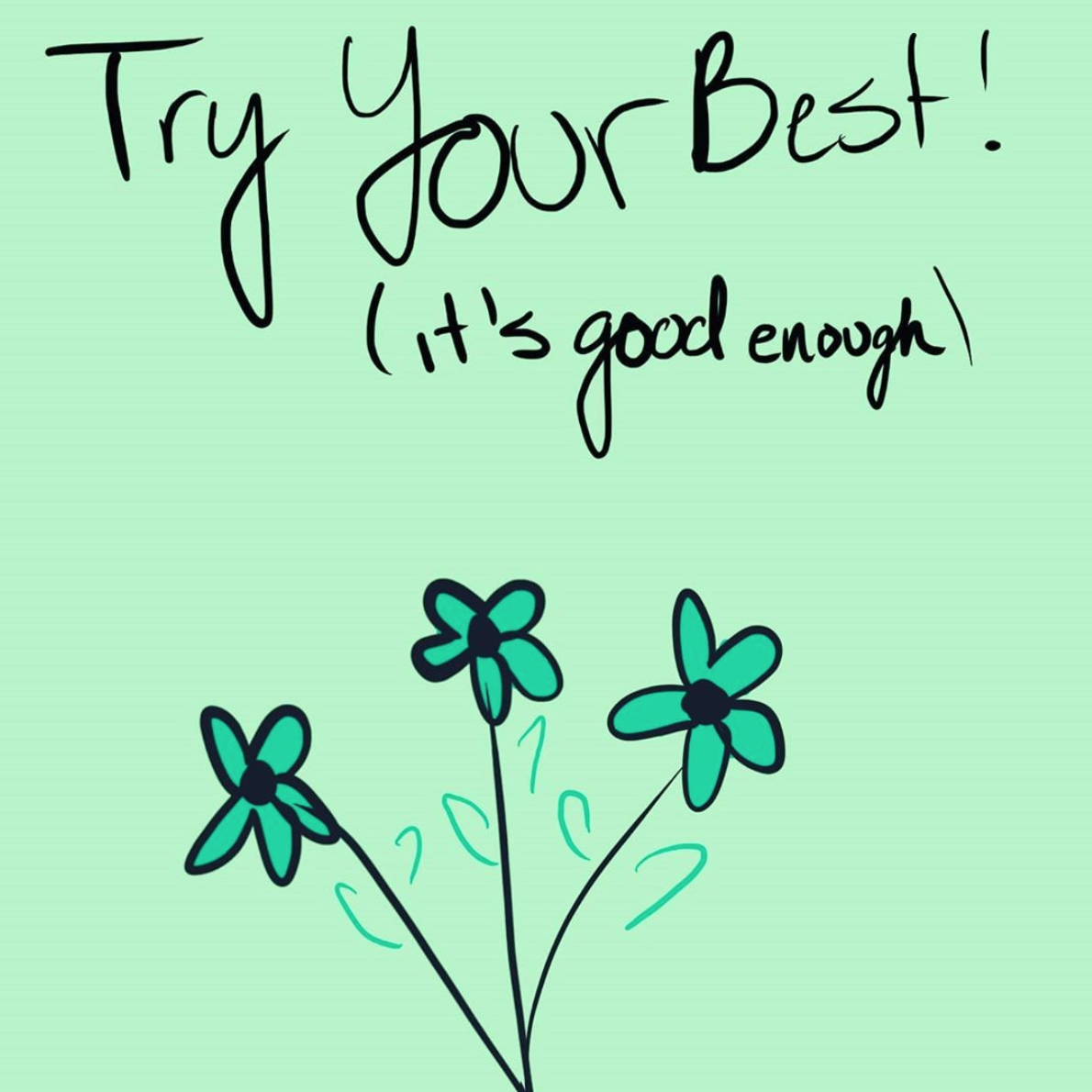 [Image] Try your best, it's good enough