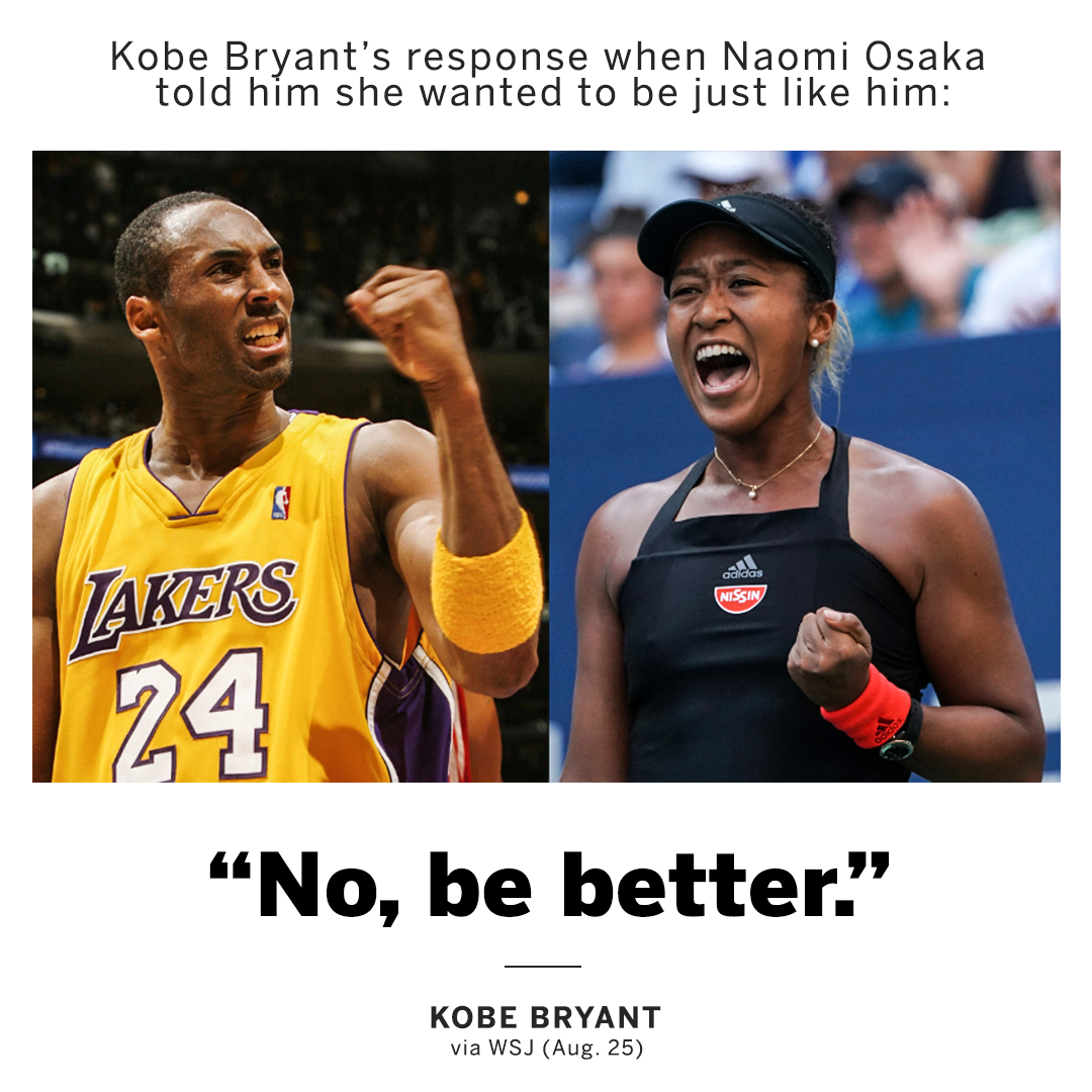 """No, be better."" [Image]"