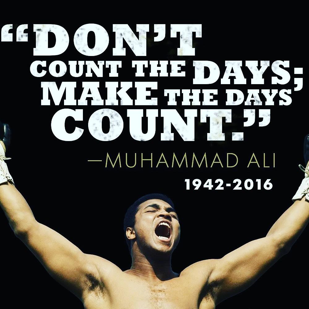 Muhammad Ali American professional boxer [999×999]