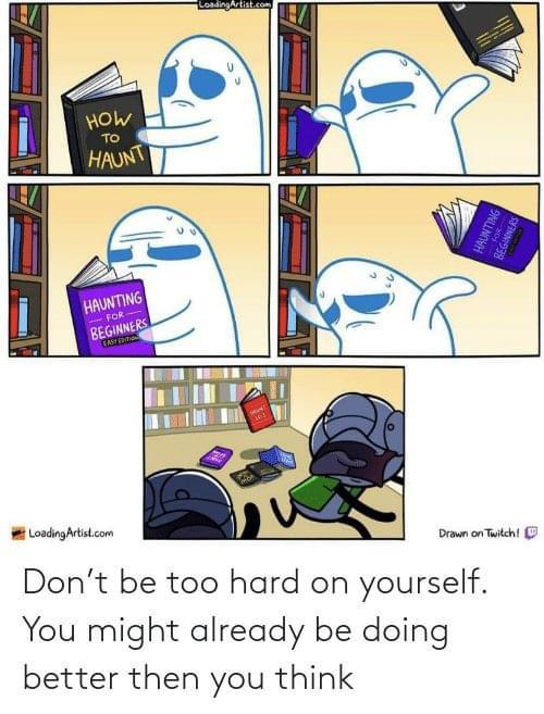 [Image] Halloween-themed motivation!