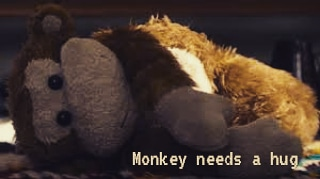 "One of the scariest binary ever. ""Monkey needs a hug"" Black Mirror [320×179]"