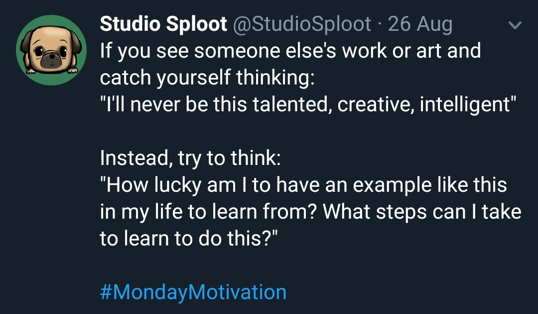 [Image] Talent is often indistinguishable from hard work and perseverance