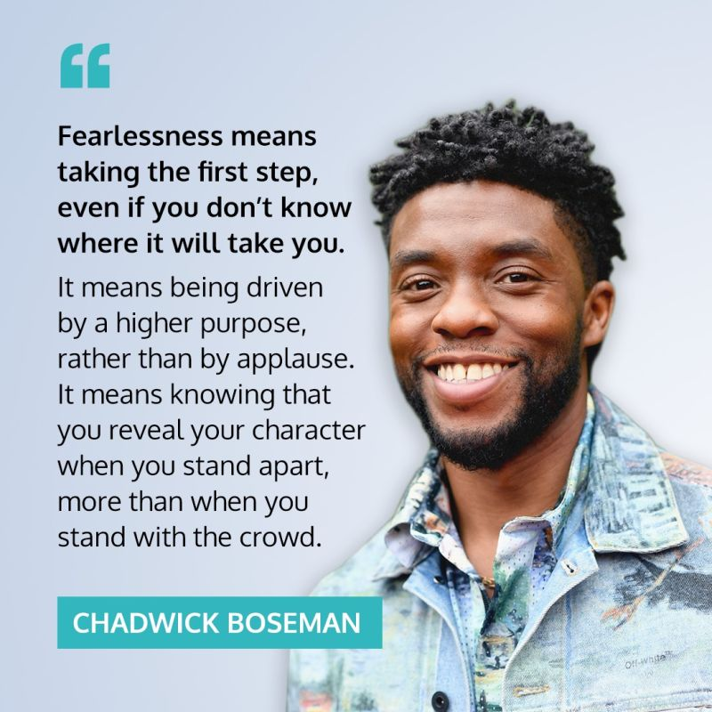 [IMAGE] Being Fearless is the courage to keep going despite Fear