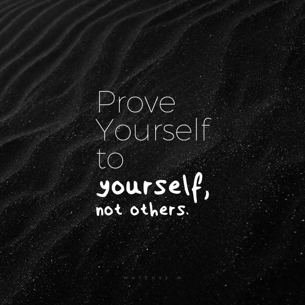 Aim to be best version of yourself [Image]
