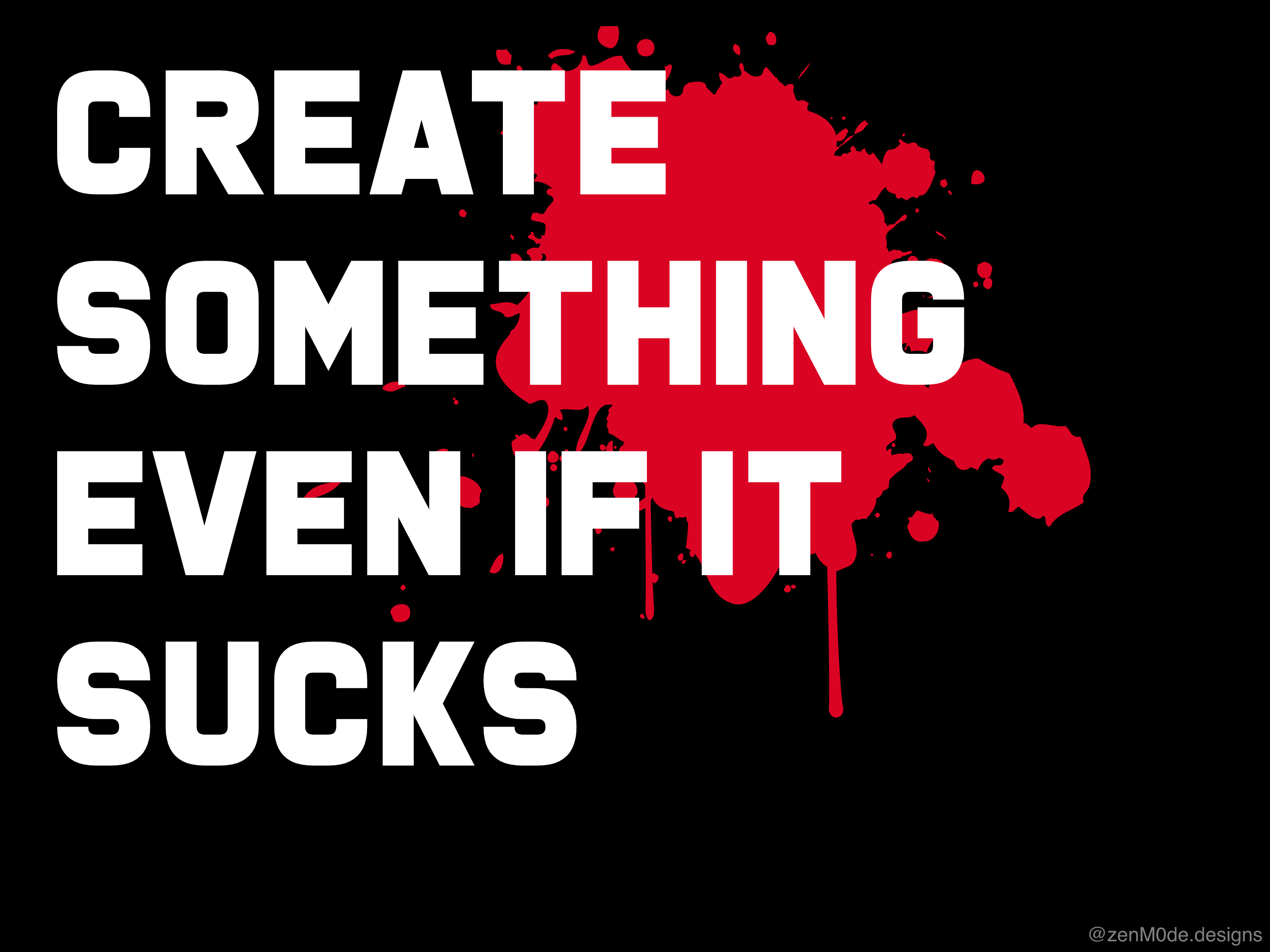 [Image] Create Something