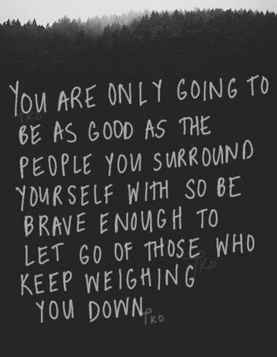 [Image] – Be Brave Enough to Let Go