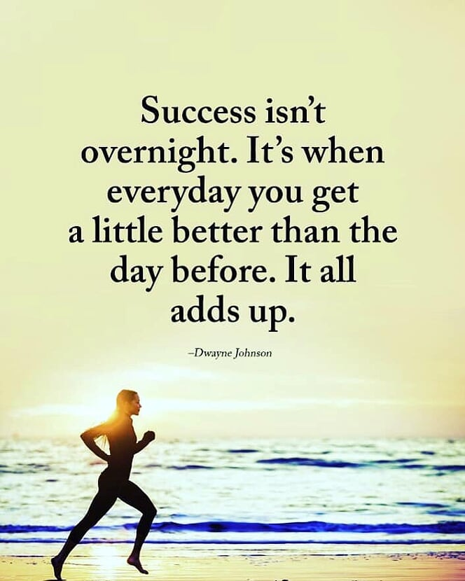 [IMAGE] One Step at a Time / One Day at a Time and Success Will Come
