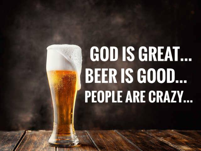 God is great, beer is good, people are crazy ;) – billy currington [ 1280 x 720 ]