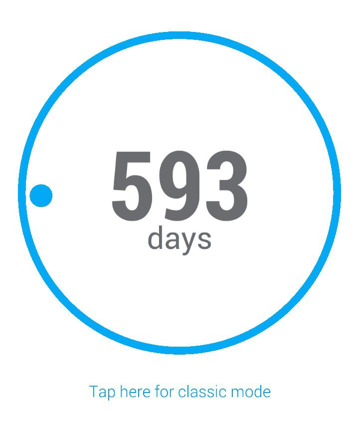 [image] 593 days without self harm. It's not easy everyday but I'm very proud !!