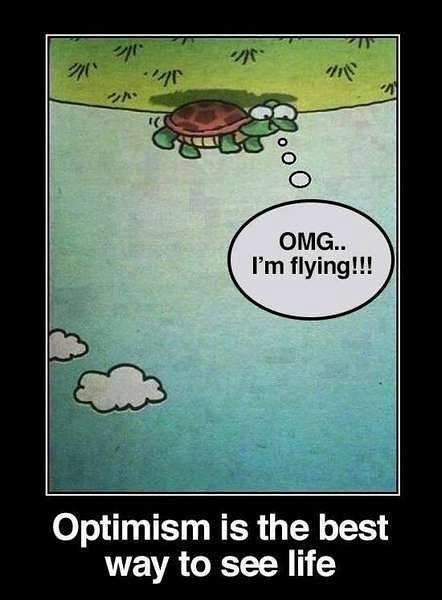 [Image] Optimistic Mindset