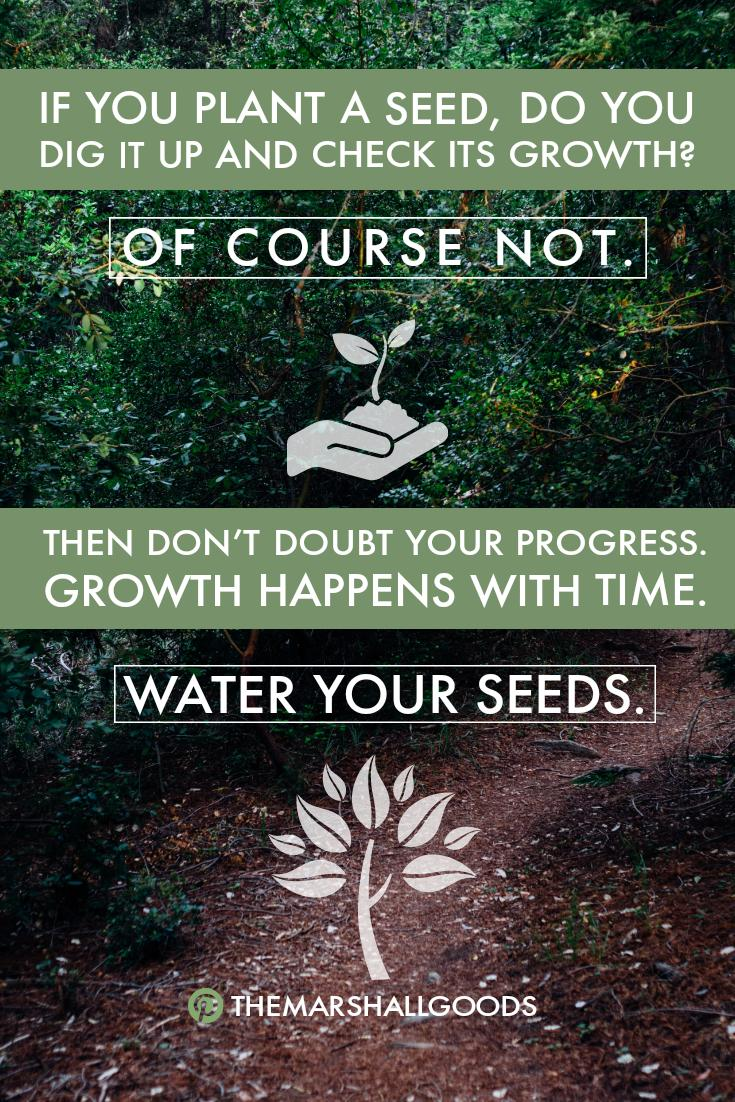 [Image] Growing a mighty Oak tree takes time, patience and dedication.