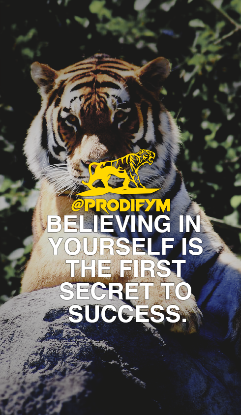 "[IMAGE] ""Believing in yourself is the first secret to success."""