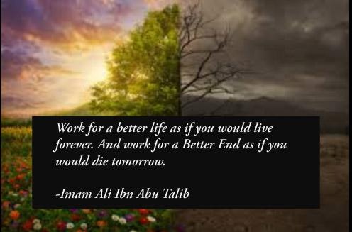 Work for a better life as if you would live forever. And work for a better end as if you would die tommorow.-Imam Ali Ibn Abu Talib(496×327)