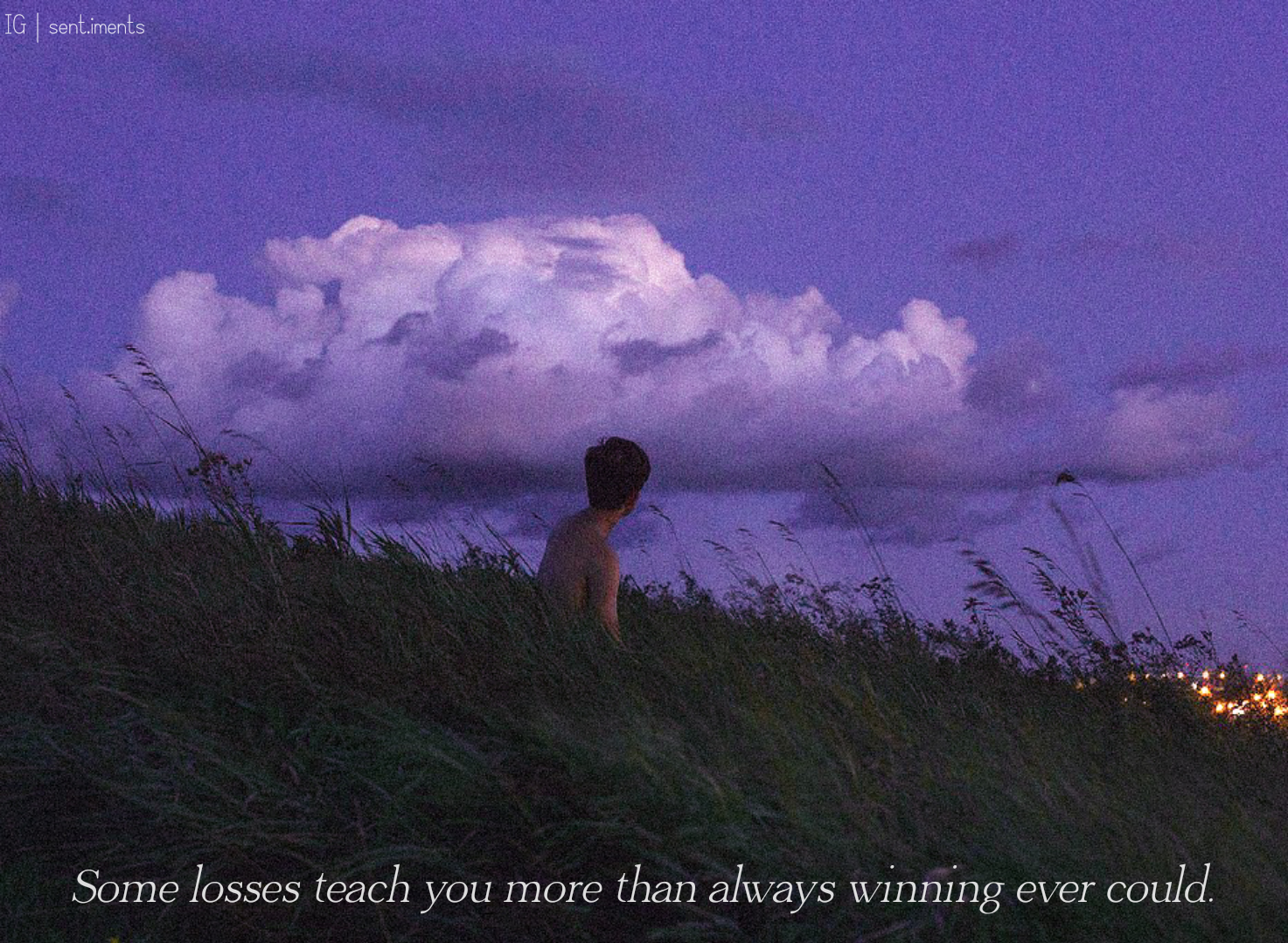 """Some losses teach you more than always winning ever could."" by Big Sean [1473 X 1079]"