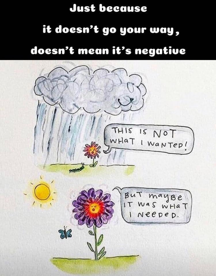 [IMAGE] Just because it doesn't go your way, doesn't mean it's negative