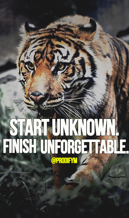 [image] Start unknown. Finish unforgettable.