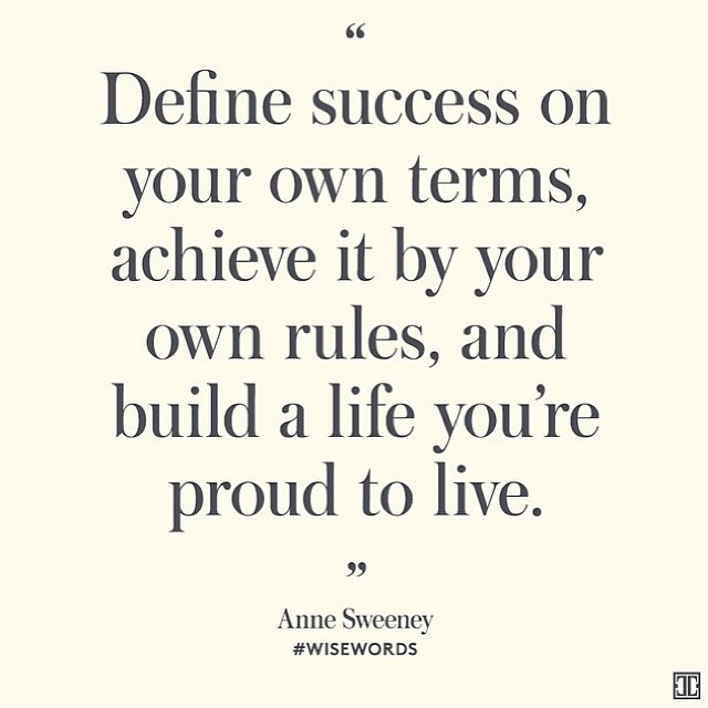 [Image] Define Success On Your Own Words