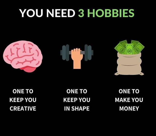 [Image] Keep working on those hobbies