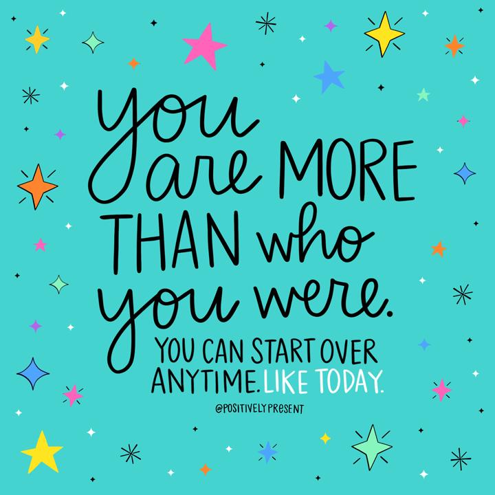 YOU CAN START OVER ' <> * ANYTIMELIKETODAY. + SSSSSSSSSSSSSSS https://inspirational.ly