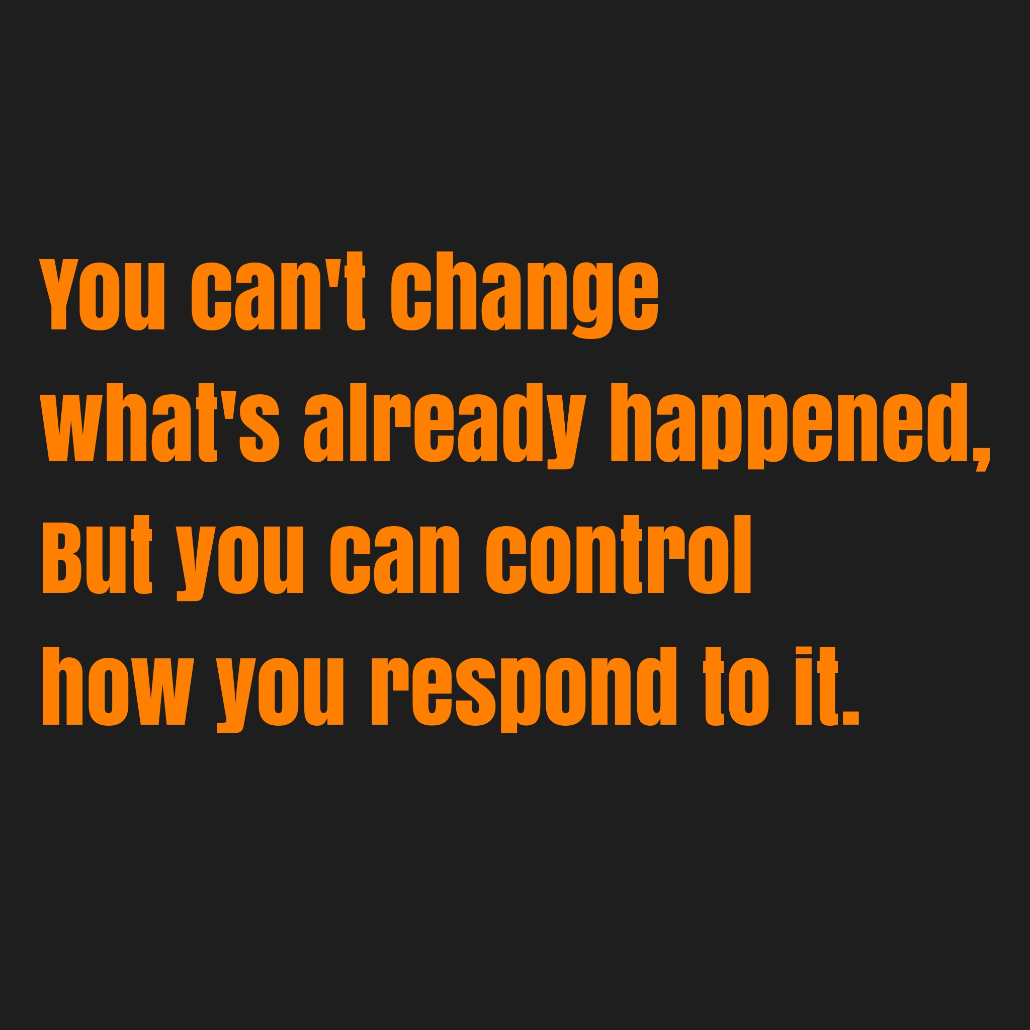 [Image] You have the control